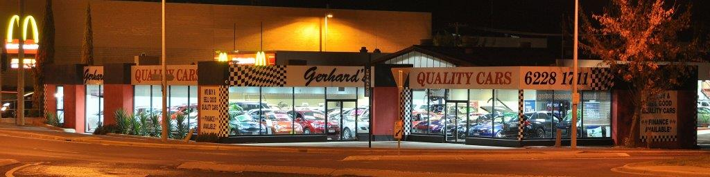 Gerhard's Quality Cars Yard
