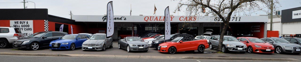 Car yard - Gerhard's Quality Cars