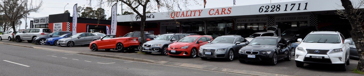 Gerhard's Quality Cars | Used Car Dealer